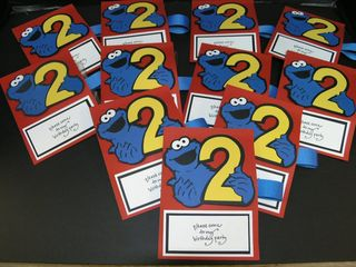 Cookie monster invites