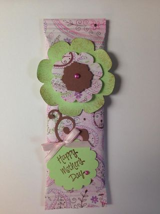 Mothers day candy bars