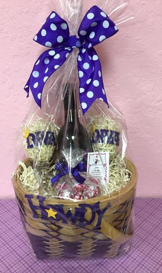 Wrapped up diva basket
