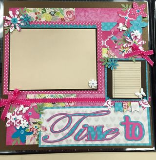 Time to scrapbook pahe