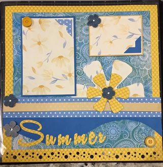 Summer scrapbook