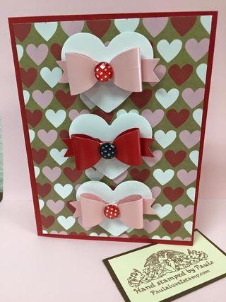 Valentines bow tie