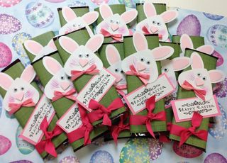 Bunny chocolate bars