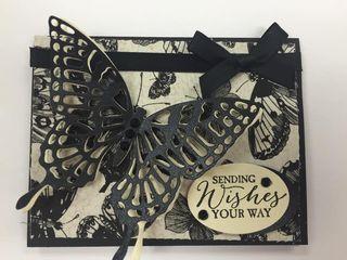 Butterfly card class