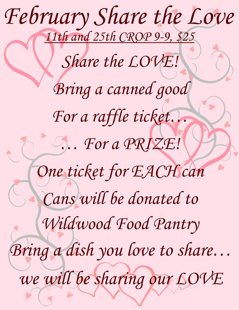 February share the love flyer