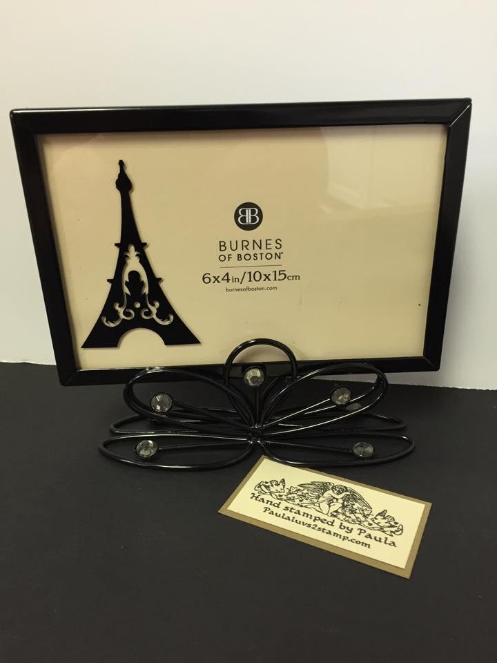 Eiffel tower frame
