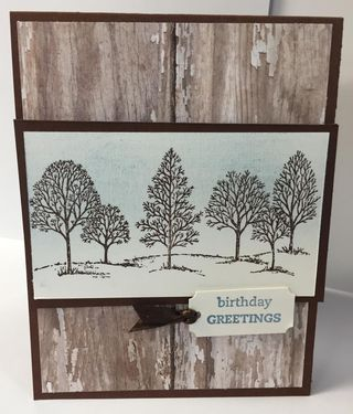 Tree birthday