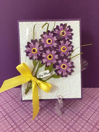 Mom flower card