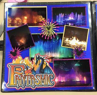 Fantasmic fireworks