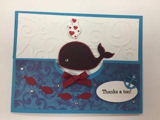 Whale card class