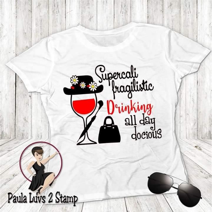 Food and wine shirt