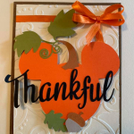 Thankful Mickey Pumkin Card
