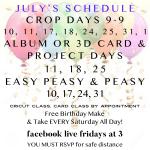 July dates