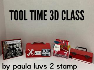 Tool Time 3d kit