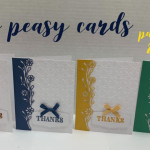 Easy peasy thank you cards