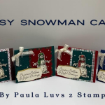 Peasy snowman cards